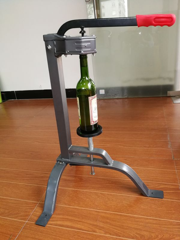 Heavy Duty Floor Standing Wine Bottle Corker Nylon Insert For Hobby / Small Winery