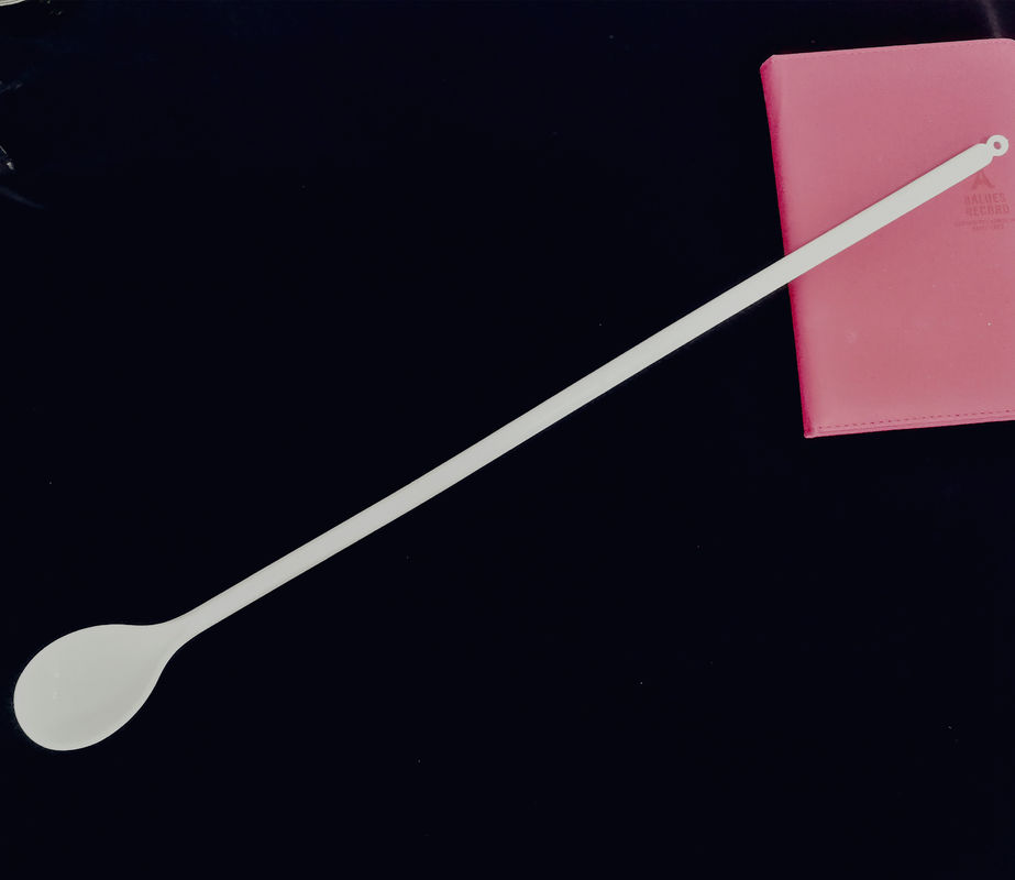 Carbonated Beverage Long Handled Stirring Spoon White Color With Odm Service